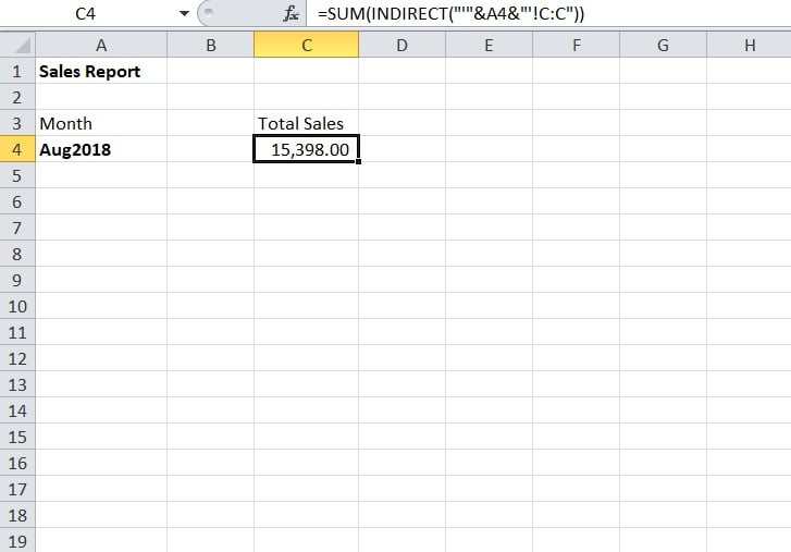 Dinamic variable sheet name in formulas
