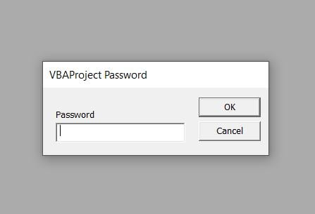 break vba password microsoft excel recover
