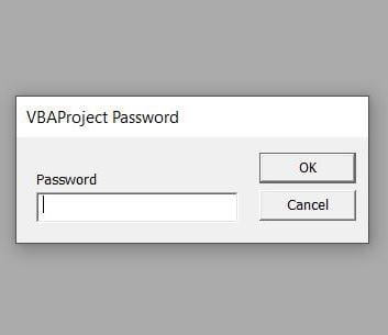 break vba password microsoft excel recover2